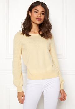 Odd Molly Soft Pursuit Sweater Light Yellow Bubbleroom.eu