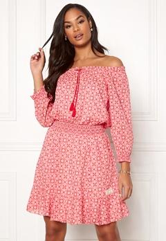 Odd Molly Stayin Free Dress Blush Pink Bubbleroom.eu