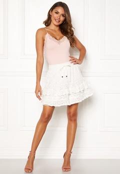 Odd Molly Swag Blossom Skirt Light Chalk Bubbleroom.eu