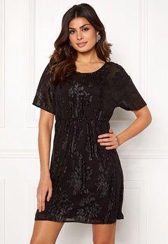 VILA Oliane 2/4 Dress Black Bubbleroom.eu