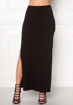 ONLY Abbie long slit skirt Black Bubbleroom.eu