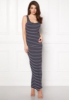 ONLY Abbie Stripe Long Dress Night Sky Stripe Bubbleroom.eu