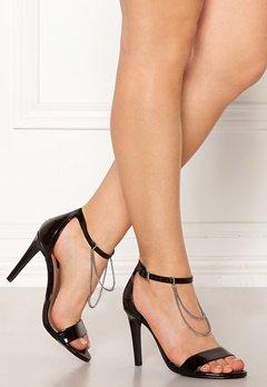 ONLY Aila Chain Heeled Sandal Black Bubbleroom.eu