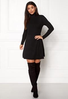 ONLY Alma L/S Dress Black Bubbleroom.eu