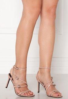 ONLY Alyx PU Heeled Sandal Nude Bubbleroom.eu