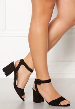 ONLY Amanda Heeled Sandal Black Bubbleroom.eu