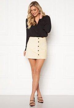 ONLY Amazing HW Corduroy Skirt Whitecap Gray Bubbleroom.eu