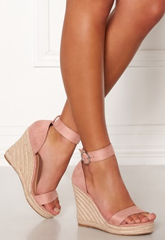 ONLY Amelia Heeled Cap Sandal Light Pink Bubbleroom.eu
