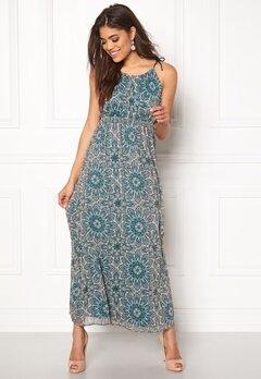 ONLY Aura S/L Maxi Dress Peyote Bubbleroom.eu