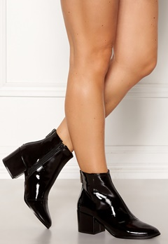 ONLY Belen Zip Patent Bootie Black Bubbleroom.eu