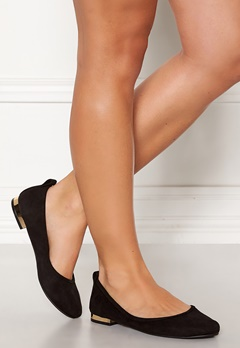 ONLY Bell Heeled Ballerina Black Bubbleroom.eu