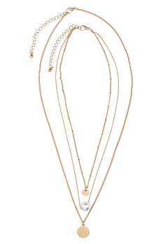 ONLY Betinna Necklace Gold Colour Bubbleroom.eu