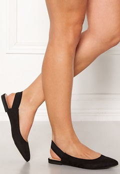 ONLY Blondie Heel Ballerina Black Bubbleroom.eu