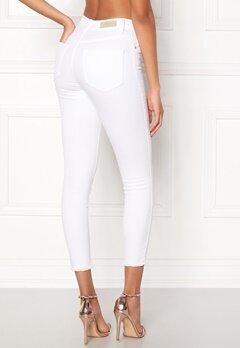 ONLY Blush Mid Ankle Jeans White Bubbleroom.eu