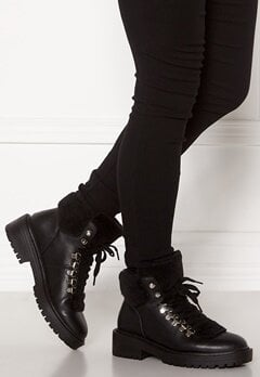 ONLY Bold PU Fur Winter Boot Black Bubbleroom.eu