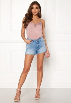ONLY Cardi Denim Shorts Light Blue Denim Bubbleroom.eu