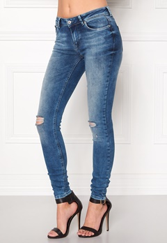 ONLY Carmen Reg Jeans Medium Blue Denim Bubbleroom.eu