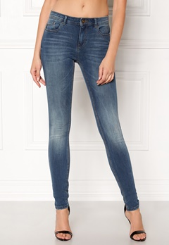 ONLY Carmen Reg Skinny Jeans Medium Blue Denim Bubbleroom.eu