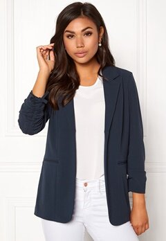 ONLY Carolina 4/5 Blazer Blue Nights Bubbleroom.eu