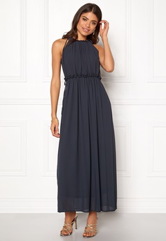 ONLY Ceremony Long Dress Dark Navy Bubbleroom.eu
