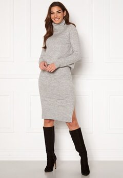 ONLY Cille Skirt Ex Knit Ligth Grey Melange Bubbleroom.eu