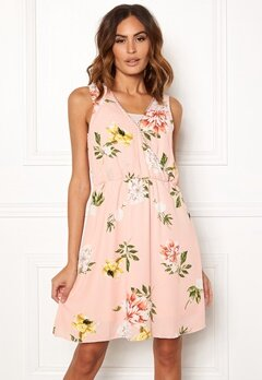 ONLY Dalia S/L Sarah Dress Rose Smoke Bubbleroom.eu