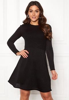 ONLY Darling L/S Dress Black Bubbleroom.eu