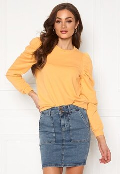 ONLY Dida L/S Puff Sweat Buff Yellow Bubbleroom.eu