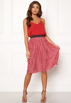 ONLY Disco Skirt High Risk Red Bubbleroom.eu
