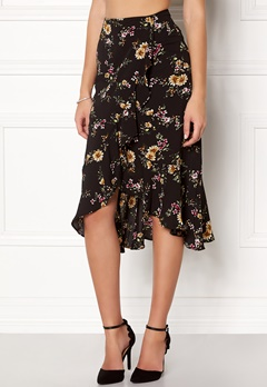 ONLY Ella Flounce Skirt Flowers Bubbleroom.eu