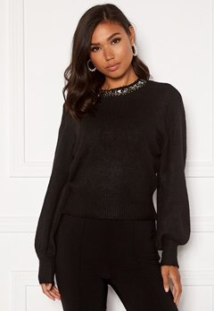 ONLY Elsa L/S Pullover KNT Black Bubbleroom.eu