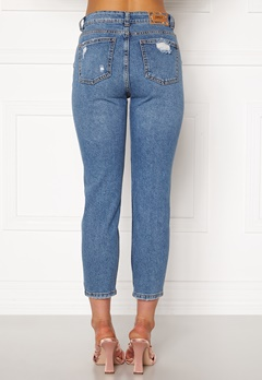 ONLY Emily HW  Crop Jeans Medium Blue Denim Bubbleroom.eu