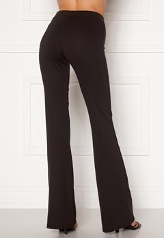 ONLY Fever Stretch Flaired Pants Black Bubbleroom.eu