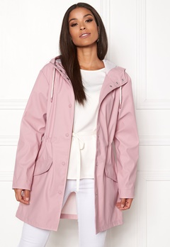 ONLY Fine Raincoat Pink Nectar Bubbleroom.eu