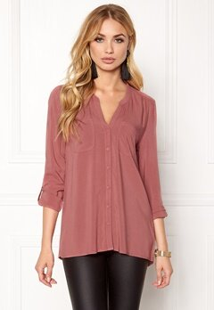 ONLY First ls Pocket Shirt Withered Rose Bubbleroom.eu