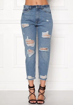 ONLY Gurli Denim Jeans Medium Blue Denim Bubbleroom.eu