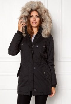 ONLY onliris parka cc otw Black Bubbleroom.eu