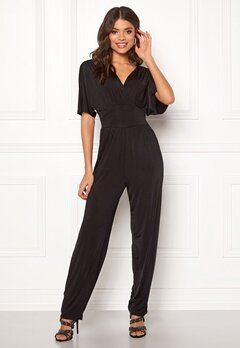 ONLY Iris S/S Jumpsuit Black Bubbleroom.eu