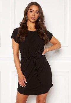 ONLY Julia S/S String Dress Black Bubbleroom.eu