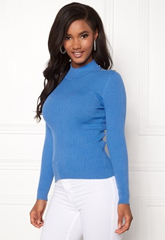 ONLY Kamille Button Pullover Marina Bubbleroom.eu