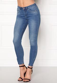 ONLY Kendell Ankle Zip Jeans Medium Blue Denim Bubbleroom.eu