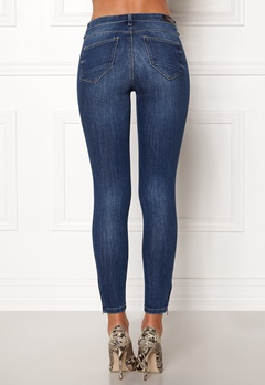 ONLY Kendell Regular Skinny Ankle Jeans Medium Blue Denim Bubbleroom.eu
