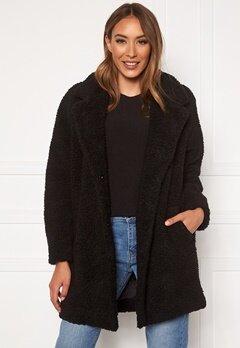 ONLY Laurelia Sherpa Coat Black Bubbleroom.eu