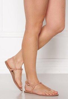 ONLY Margit PU Glitter Split Toe Sandal Nude Bubbleroom.eu