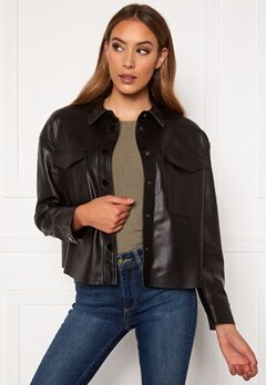 ONLY Marina Faux Jacket Black Bubbleroom.eu