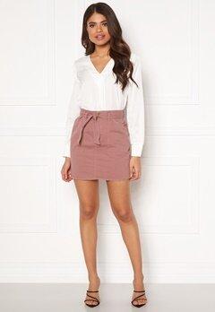 ONLY Matilda-Lykke Mini Skirt Burlwood Bubbleroom.eu