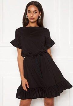 ONLY Mitza Life S/S Dress Black Bubbleroom.eu