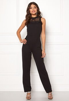 ONLY Mona S/L Jumpsuit Black Bubbleroom.eu