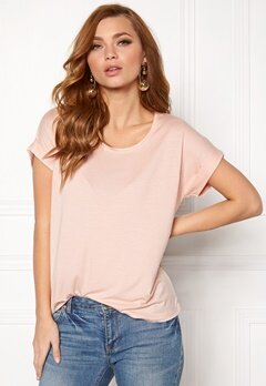 ONLY Moster s/s Top Peach Whip Bubbleroom.eu