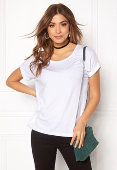 ONLY Moster s/s Top White Bubbleroom.eu